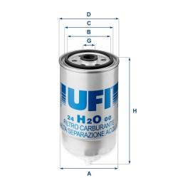 Filtro Carburante (24.H2O.00)