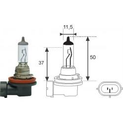 Lampadina H11 12V 55W